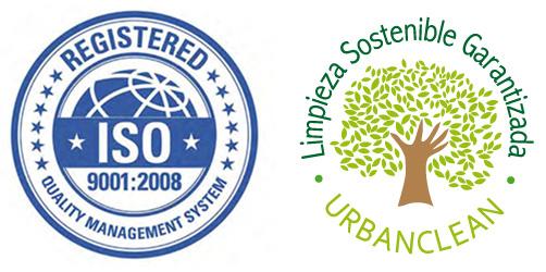 Certificado ISO de calidad UrbanClean
