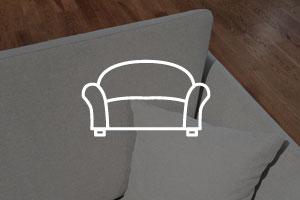 Limpieza de fundas de sofá