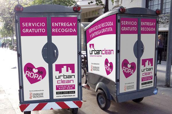 Tintorerías UrbanClean - Recogida y entrega gratis