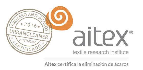 Certificado Antiacaros - Aitex