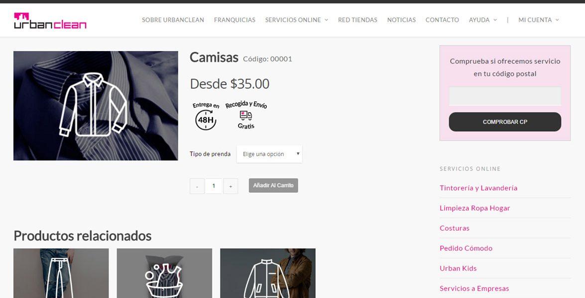Tintorería y Lavandería online en México