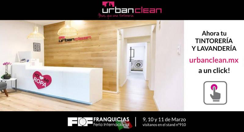 UrbanClean - Feria Internacional de Franquicias de México 2017