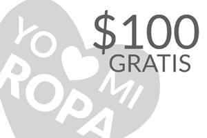 Cupon descuento 100 pesos