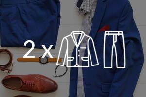 Tintorería - Pack 2 Trajes