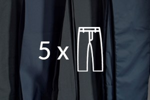 Tintorería - Pack 5 pantalones